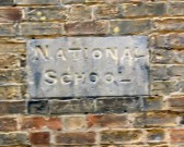 Foundation Stone of Lode National School (at 7 High Street)