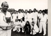 Lode cricket team in approximately 1973