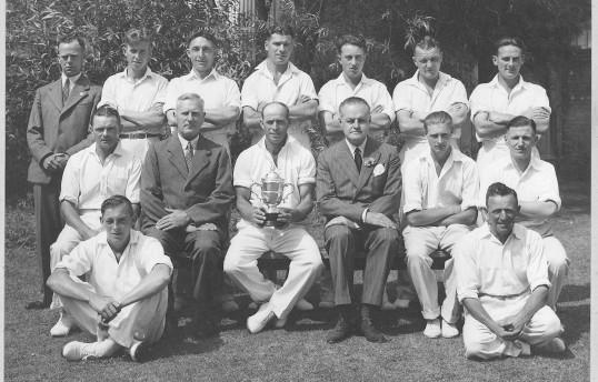 Lode Cricket team Circa 1950