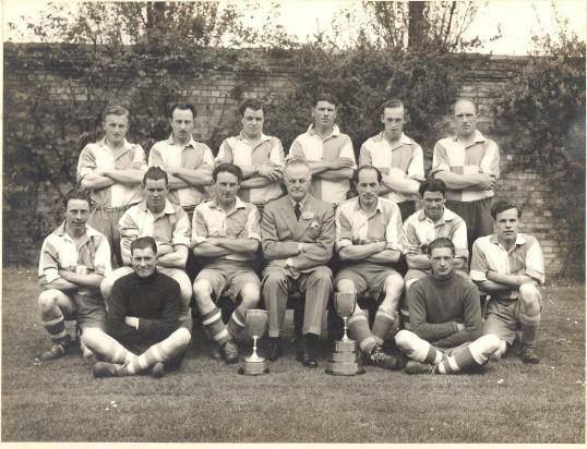 Lode Football Team Circa 1950