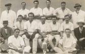 Lode Cricket Team. Charles Bertie Brand. 1920's