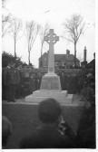 Dedication of War Memorial