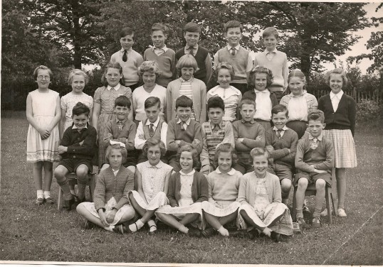 Lode School c.1958