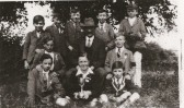 Lode School Cricket Team 1930's