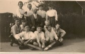 Hicks Cup - Lode Scoolboys c.1930's