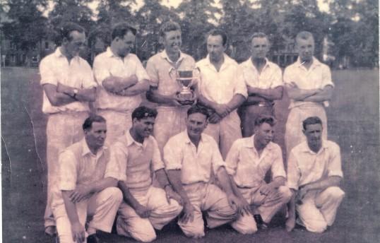 Lode Cricket Team on Parker's Piece