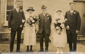 Wedding of Bertha Darling and Jack Hatley