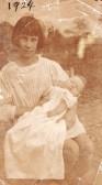 Irene Ella  Cornell 1925 aged 15