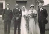 Wedding of John Ayres & Irene Cornell 1933