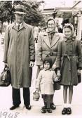 Jack & Rene & family Clacton 1948