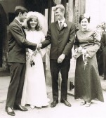 Wedding of Robert Ayres & Jennifer Wright 1967