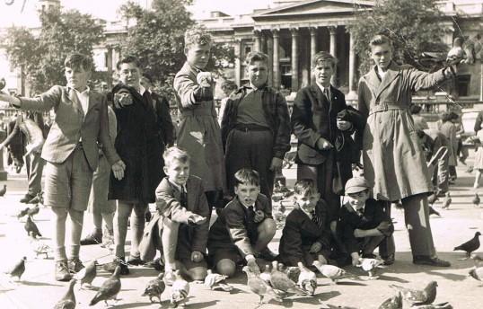 Lode Church choir outing 1954
