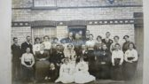 Wedding of Frederick Henry FRY and Susan WRIGHT 10th November 1917
