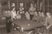 Longstowe Youth Club in the old Hut about 1960