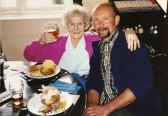 Murden - Elsie aged 90 with grandson Keith Pettitt