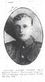 Cooper,Laurence Henry, 1894(5)-1918. Longstowe WW1 Roll of Honour