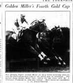 Golden Miller's Fourth Gold Cup