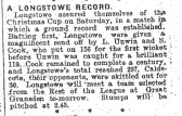 Longstowe v Caldecote 1931