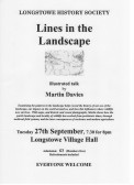 "2016.09 Longstowe History Society evening Sept 2016. ""Lines in the landscape"" a talk given by Martin Davies"
