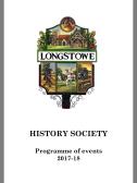 2017.5 History Society Program of events 2017-2018