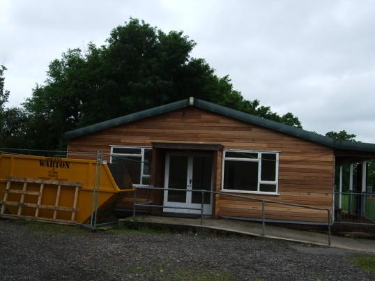 2017.5 Longstowe Village Hall Refurbishment starts in May 2017