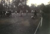 Sports in the playing field on Silver Jubilee Day 1935
