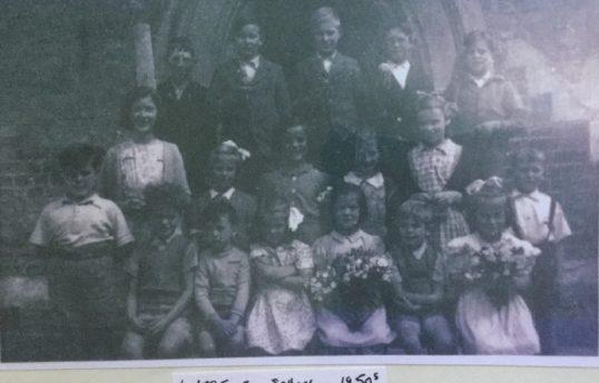 Longstowe School in 1950's