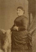 May Hope (born Mary Palmer in 1850 in Meldreth) wife of Edwin Hope of 71 High Street, Meldreth. Edwin was the proprietor of Hope Folly Gas Works.