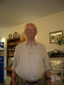 John Gipson, pictured at a Meldreth Local History Group Coffee Morning at the Sheltered Housing Community Centre, Elin Way, Meldreth