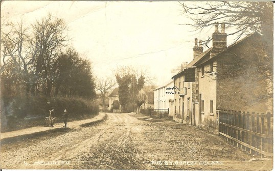 The Railway Tavern and Allerton Terrace, High Street, Meldreth