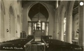 Interior of Holy Trinity Church, North End, Meldreth (ne011)