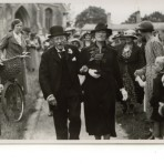 Hubert Ellis leaves Holy Trinity Church, Meldreth, following his marriage to Mrs. Marian Fullagar.