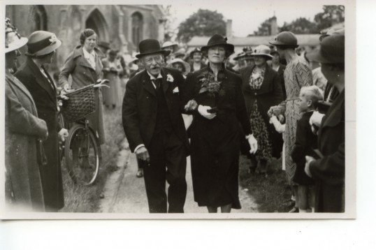 Hubert Ellis leaves Holy Trinity Church, Meldreth, following his marriage to Mrs. Marian Fullagar.