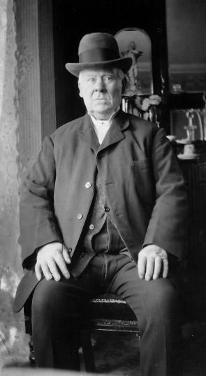 William Lambeth, owner, in Orchard Dene, High Street, Meldreth