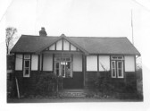 Bungalow known as 'Dingle Dell', North End, Meldreth, purchased from Bill East by Mr. Cecil Handscombe approx. 1939. Demolished in 1980's.