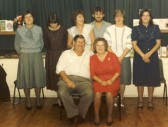 Yates family anniversary party in Meldreth Village Hall.