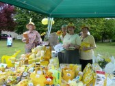 The Meldreth WI stall at Holy Trinity Church Fete, North End, Meldreth