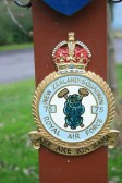The crest of the 75th New Zealand Squadron