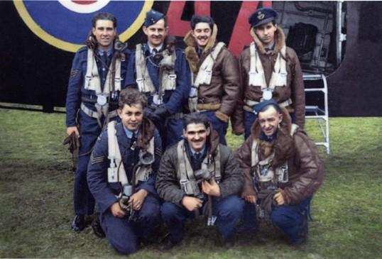 Air crew, Mepal airfield