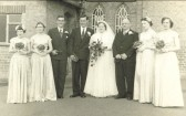 Peter and Gwen Barlow's Wedding Day, Mepal Chapel