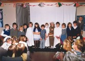 Christmas play at Mepal School