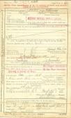 A Mepal resident's World War I Discharge Certificate