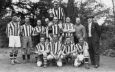 Orwell Football Team. League Champions and Foster Cup Winners.