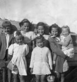 Members of Orwell Methodist Church Sunday School. Seaside outing.
