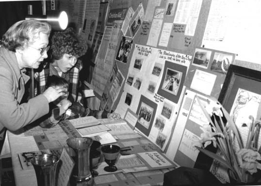 Dorothy Green & Irene Desborough at the