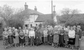 Members of Orwell W.I. at their Birthday lunch at Manor Farm, Orwell in 1993.