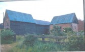 Buildings at Meadowcroft Farm, Lotfield Street, Orwell before conversion to residential use.