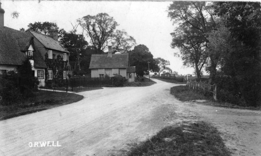 Junction of Orwell High Street, Barrington Road and Malton Lane