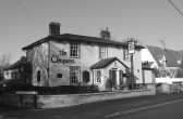 The Chequers public house, Town Green Road, Orwell. The only pub remaining in the village by 1967