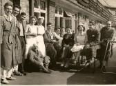 Baron Hospital Balcony 1950s